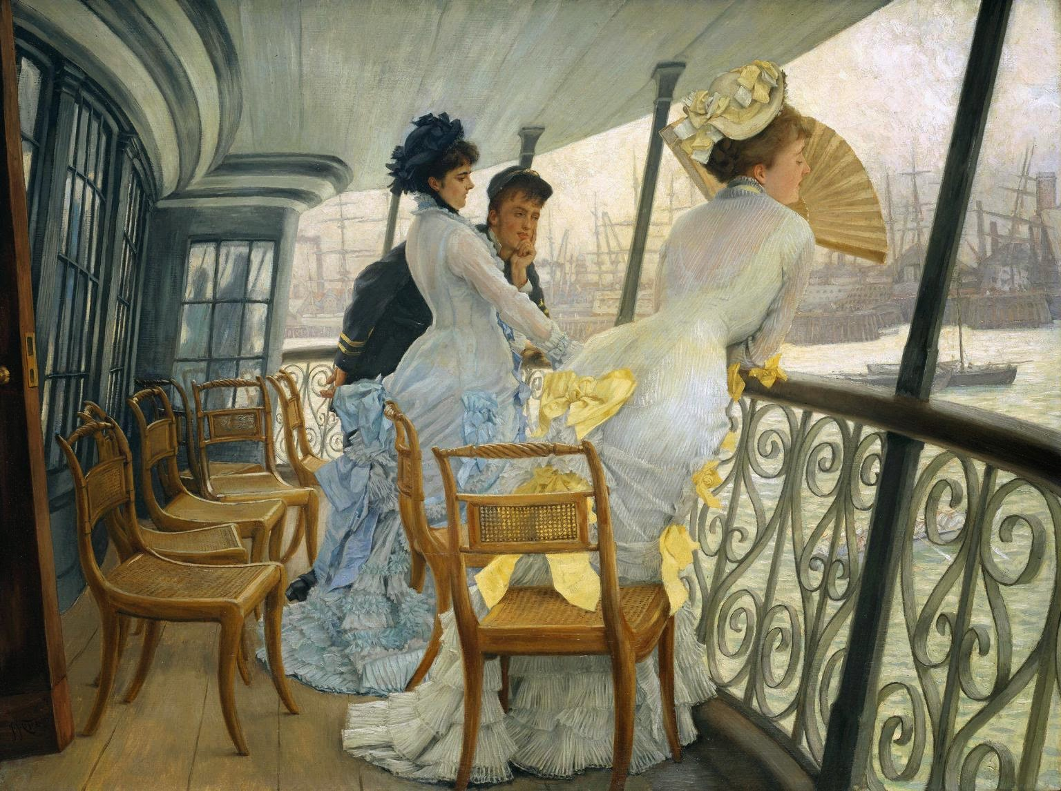 A Galeria do HMS do Calcutá - As principais pinturas de James Tissot ~ Francês