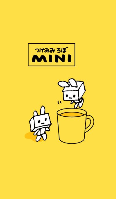Robot with rabbit ears. Mini