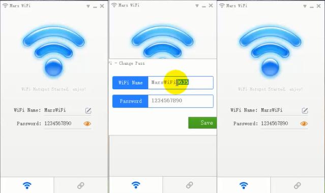 برنامج mars wifi لتحويل اللاب توب الى راوتر واى فاى اخر اصدار 2016