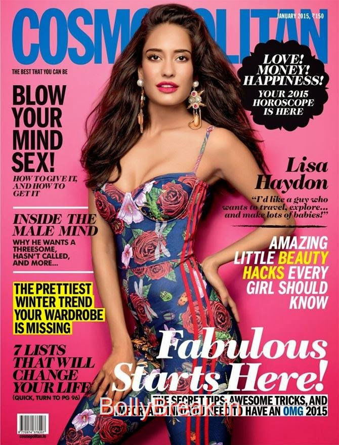 Lisa Haydon, January Cover Girls Hot Pics