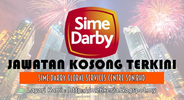 Jawatan Kosong Terkini 2016 di Sime Darby Global Services Centre