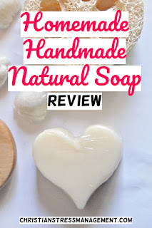 Homemade, handmade, natural soap review