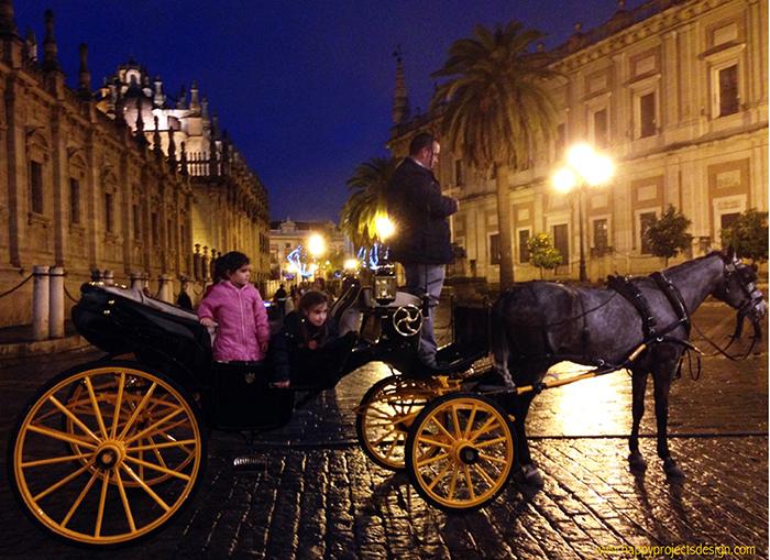 Sevilla en coche de caballos
