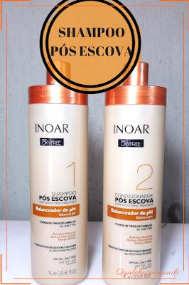 shampoo para progressiva ou selagem
