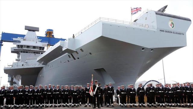 """""""Marina británica busca proteger portaviones ante amenaza rusa"""""""