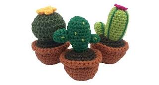 Darn Good Yarn DIY Cactus Amigurumi Knit & Crochet Starter Kit ... | 172x320