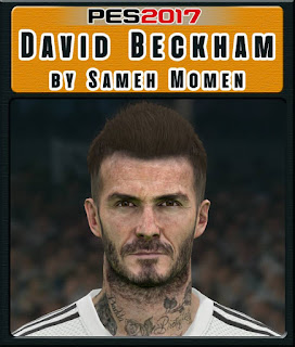PES 2017 Faces David Beckham by Sameh Momen