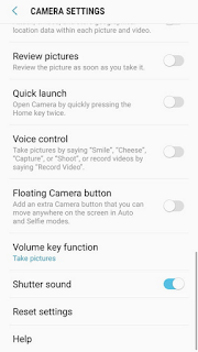 Cara mematikan suara rana kamera di ponsel Android