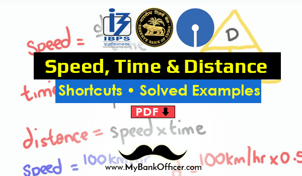 time speed distance problems pdf