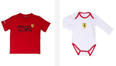 Body para bebé de Ferrari