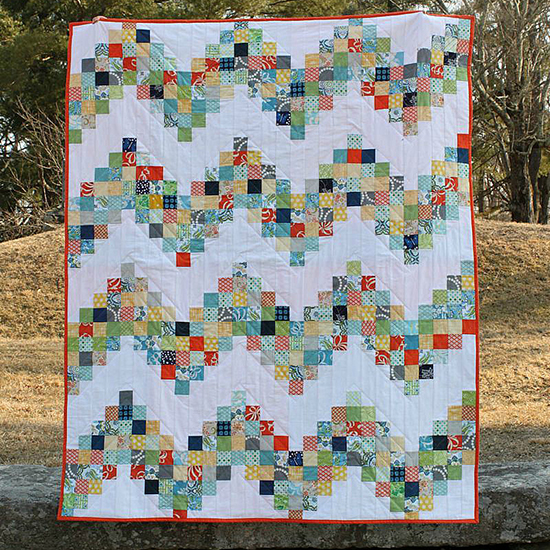Good Day Sunshine: A Scrappy Quilt Tutorial