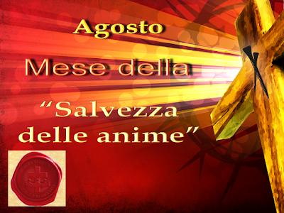 Agosto, mese della Salvezza delle anime