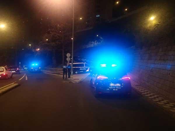 Un hombre muere al caer de un muro en la Bajada de Mata, Las Palmas de Gran Canaria / Foto@PoliciaLPA