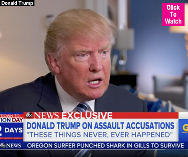 Donald Trump Mocks Accuser For Being 'Afraid' To Report Allegations: 'Give Me A Break'