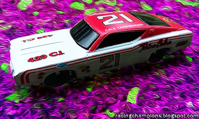 Cale Yarborough #21 Ford Racing Champions 1/64 die-cast blog NASCAR Wood Brothers Cobra Torino