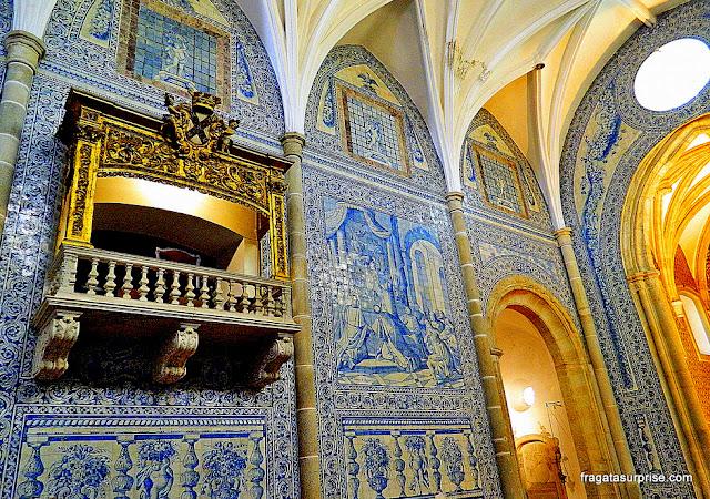 Azulejos da Capela dos Lóios, Évora, Portugal