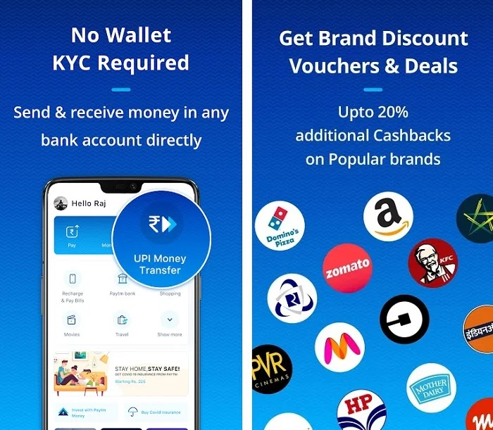 Free Reward on Paytm App