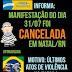 Protesto contra a Dilma foi cancelado devido ao clima de insegurança em Natal
