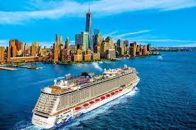 Norwegian Escape Norwegian Cruise Line New York Skyline Bermuda Cruises