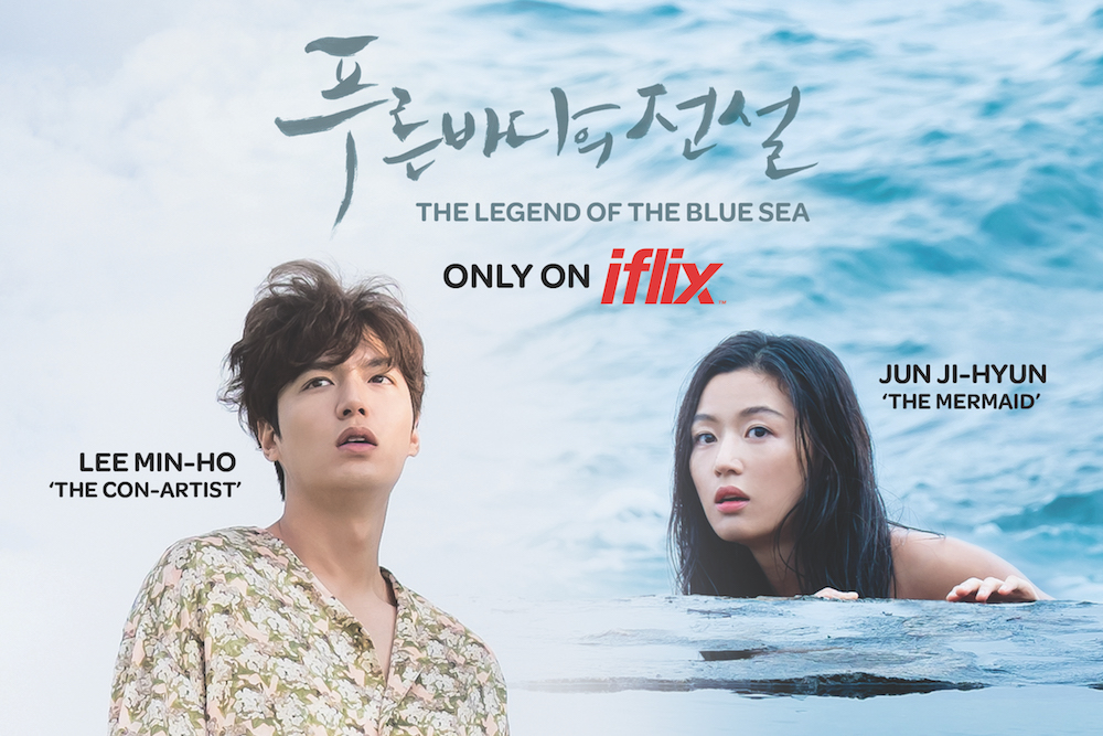 the hottest korean fantasy drama the legend of the blue sea starring lee min ho and jun ji hyun is now exclusively available on iflix