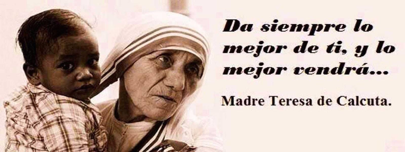 Resultado de imagen para MADRE TERESA DE CALCUTA
