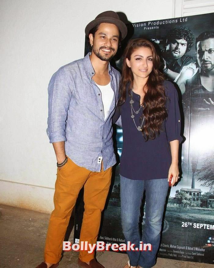 Kunal Khemu, Soha Ali Khan, Pics from '3 AM' Movie Special Screening