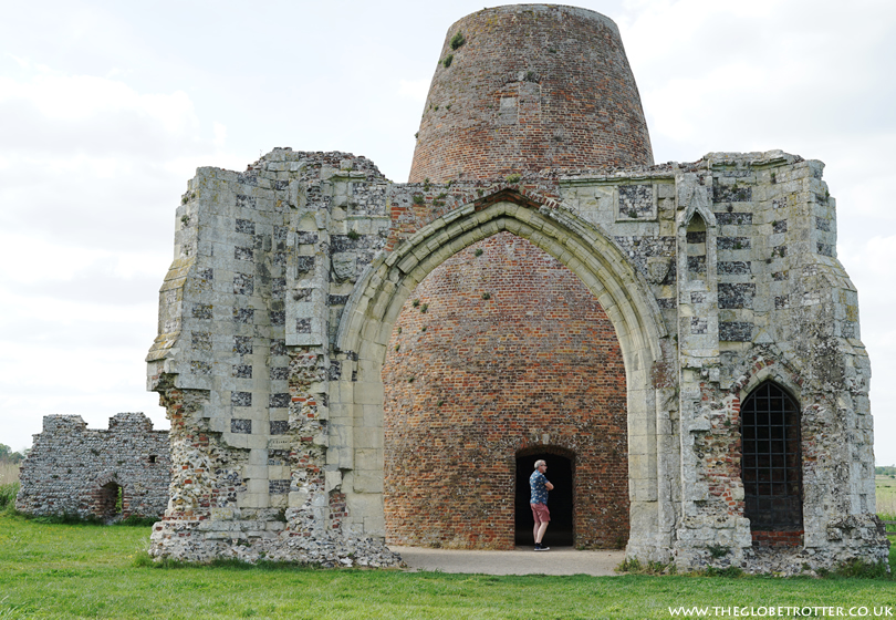 Gatehouse of St Benet's Abbey in Norfolk Broads