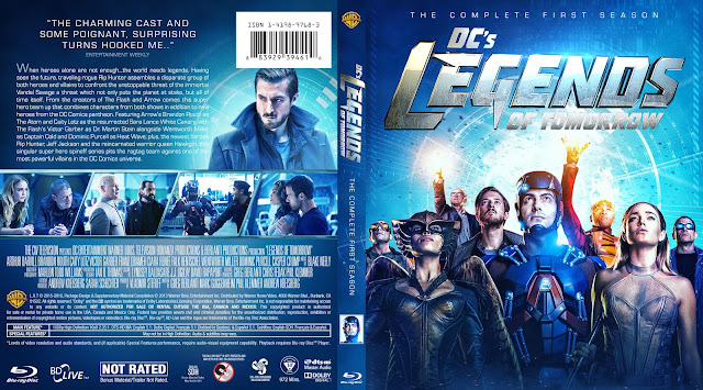 Capa Bluray Legends Of Tomorrow Primeira Temporada