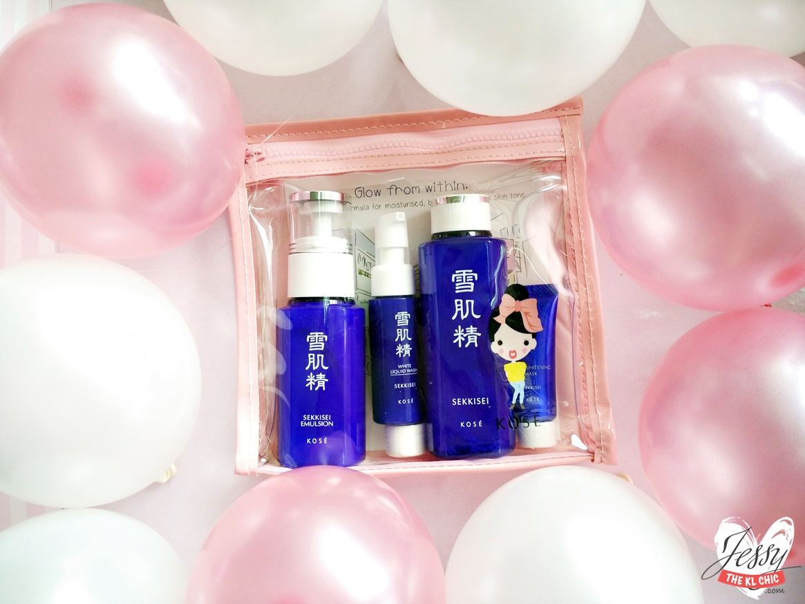 Glow From Within With KOSE SEKKISEI Trial Kit