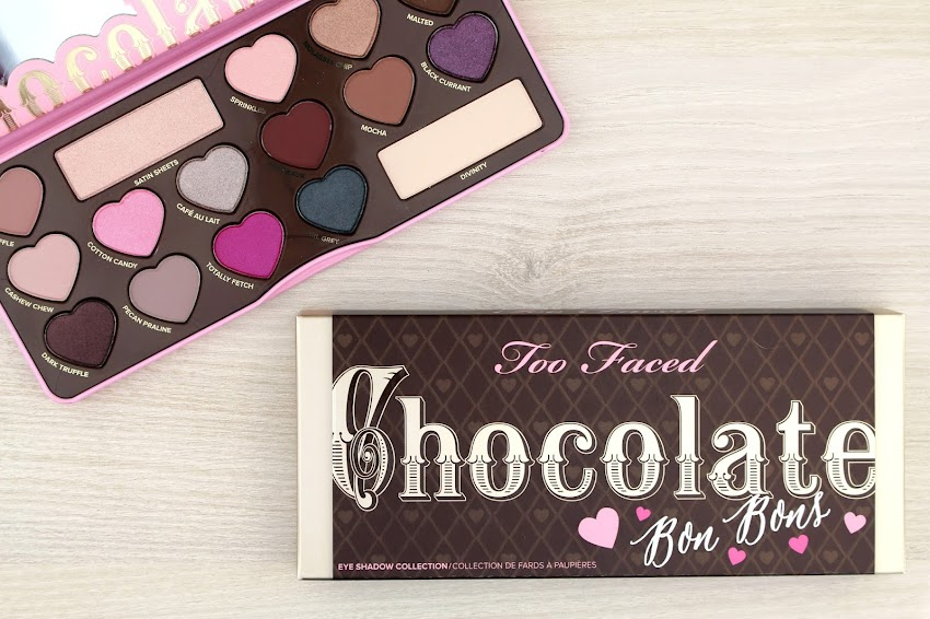 Revue & idée Makeup La chocolate Bon Bons de Too Faced