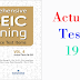 Listening Comprehensive TOEIC Training - Actual Test 19