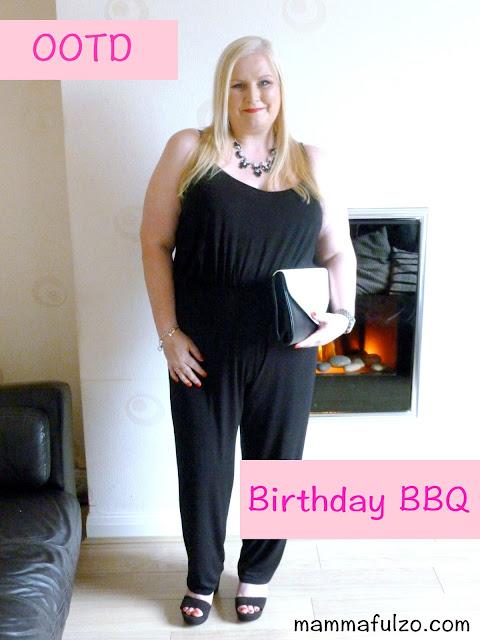 OOTD - A Birthday BBQ
