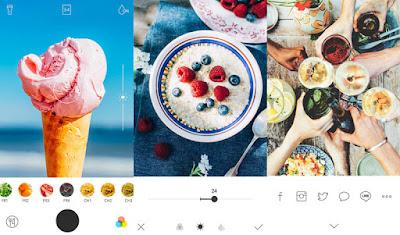 Foodie - A delicious camera