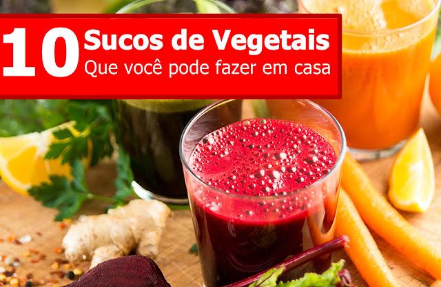 Top 10 sucos de vegetais que você pode fazer em casa