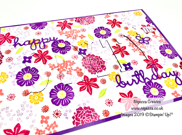 Stampin' Up! Beautiful Bouquet Eclipse Card by Nigezza Creates