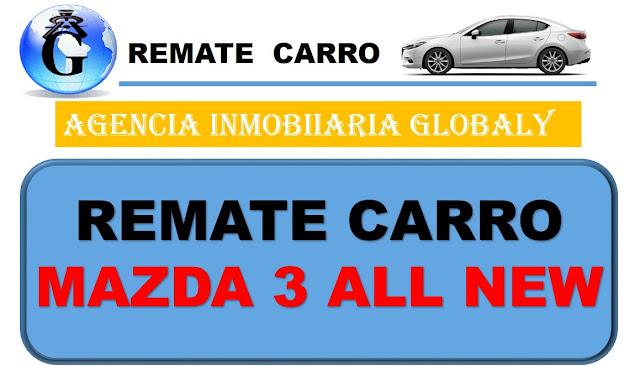 REMATE CARRO MAZDA 3 BUCARAMANGA COLOMBIA