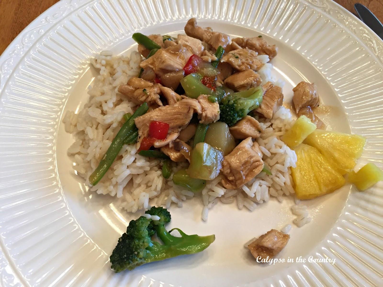 Easy Chicken Teriyaki Dinner Kids Will Love - Calypso in the Country Blog