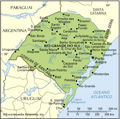 Rio Grande do Sul, Geografia, História e Sociedade Gaúcha