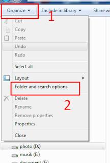 Cara Menampilkan Gambar Thumbnails Pada Windows 7