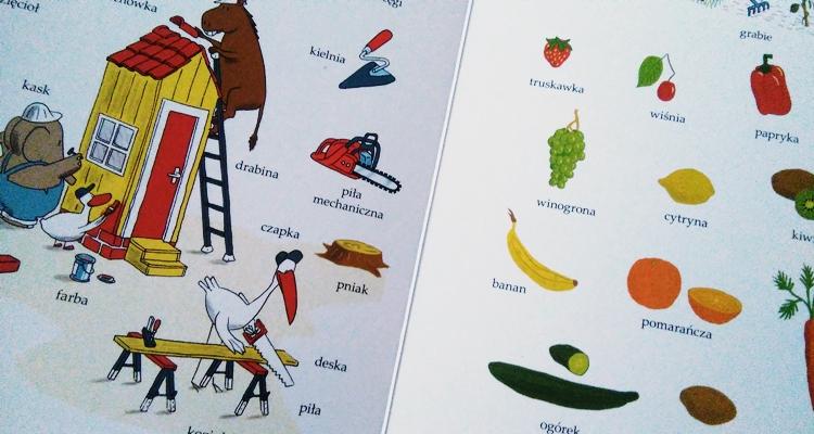 Słownik obrazkowy dla dzieci