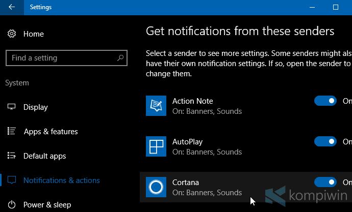 Cara Ubah Prioritas Notifikasi Aplikasi di Action Center 18