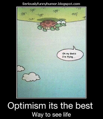 optimism-is-the-best-way-to-see-life-im-flying
