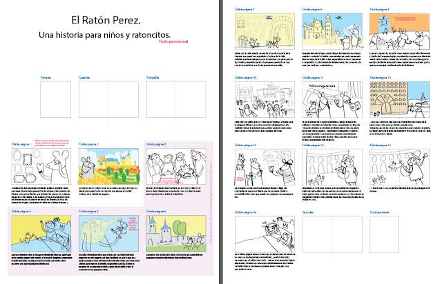 Storyboard Raton Perez una aventura en Segovia