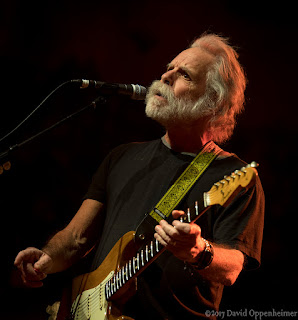 Bob Weir performing at the Warren Haynes Christmas Jam