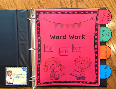 Reader's Notebook for Organizing Student Learning