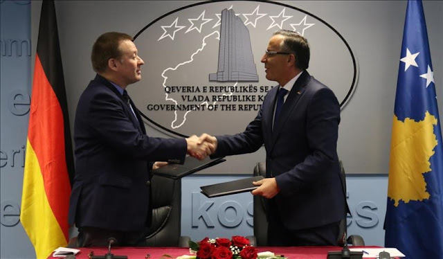 Kosovo and Germany cooperation agreement in the amount of € 60 million