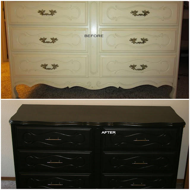 DIY dresser, update an old dresser