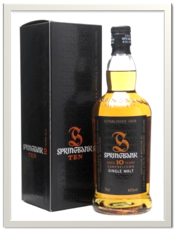 Springbank cologne single malt trust