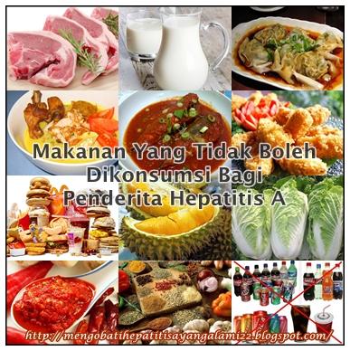 Makanan Yang Tidak Boleh Dikonsumsi Bagi Penderita Hepatitis A