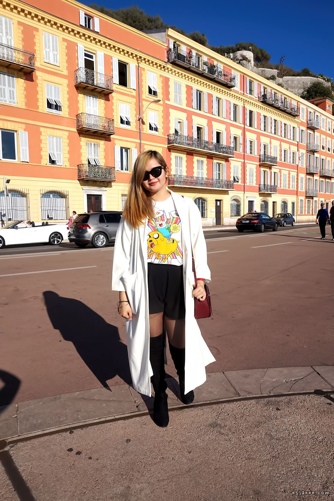 Outfit of the Day in Nice
